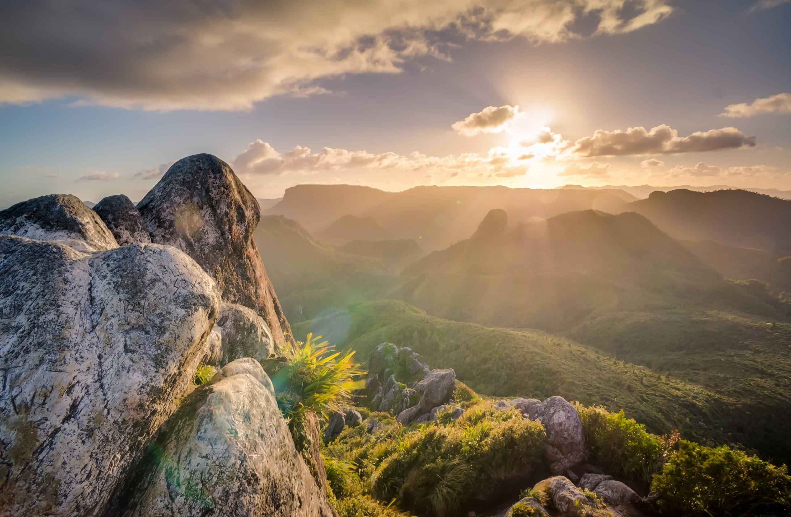 Monday Morning Hypnosis for Self-Esteem - A view of a rocky mountain with trees in the background - Anointing of the Sick in the Catholic Church