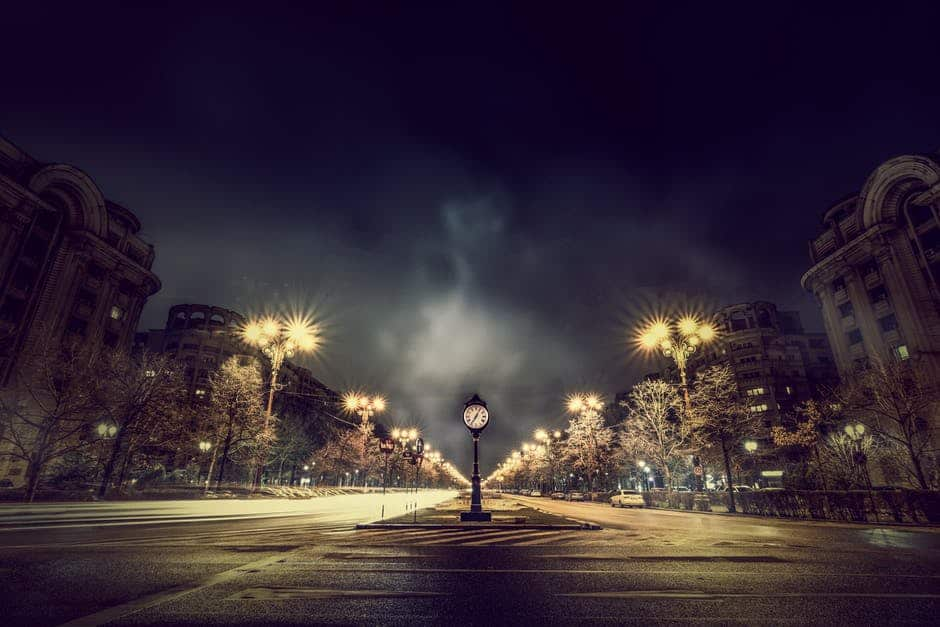 Thursday Evening Hypnosis for Self-Esteem - A dark city street at night - Complete Payroll