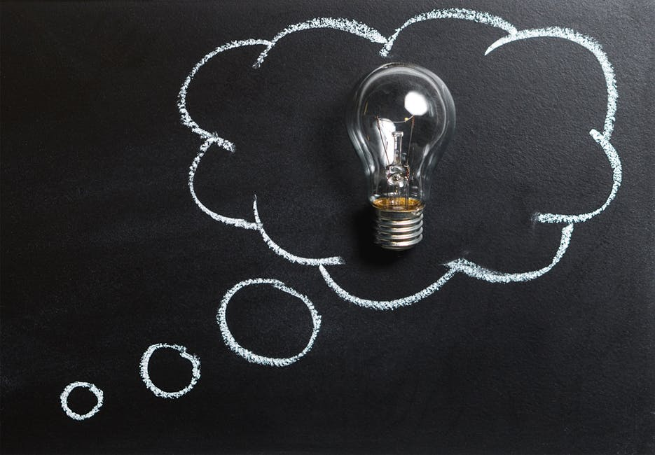Hypnosis Q & A ~ Can Everyone Be Hypnotized? - A chain on a table - Incandescent light bulb