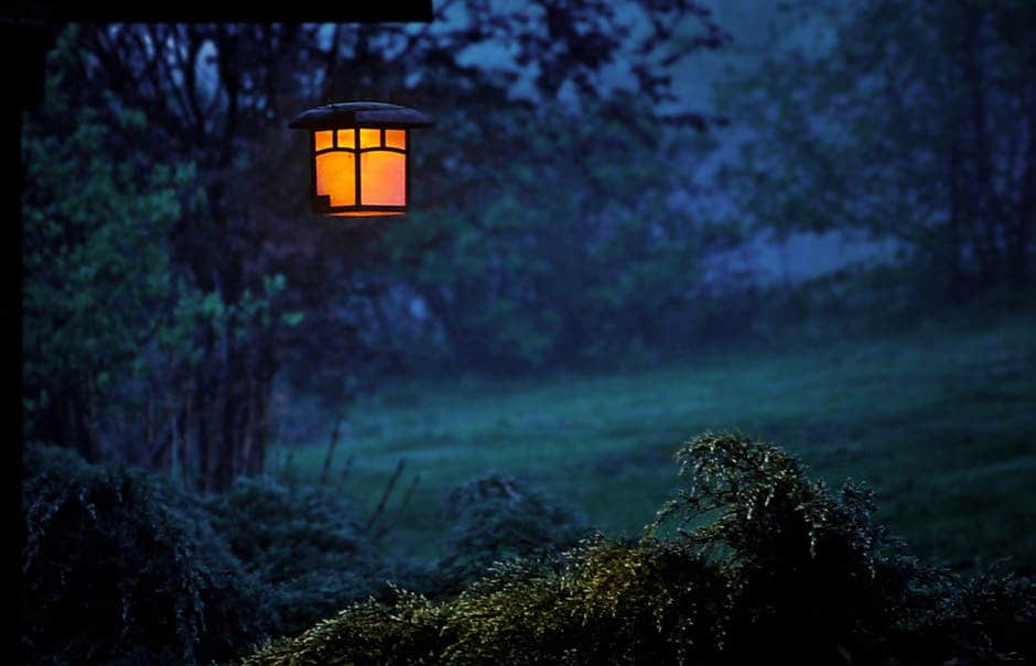 Tuesday Evening Hypnotic Relaxation - A sign in front of a sunset - Lantern