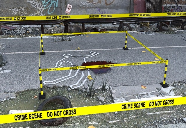 Forensic Discovery; Criminal Investigation - A screenshot of a video game in a parking lot - Crime scene