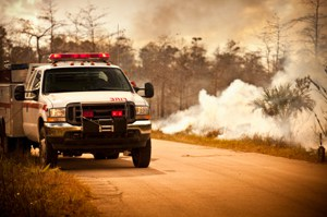 WFR Live Coverage - A truck that is driving down the road - Getty Images