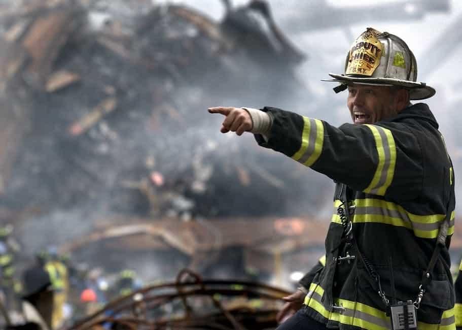 The Anatomy of Emergency - A man wearing a helmet - James Zadroga