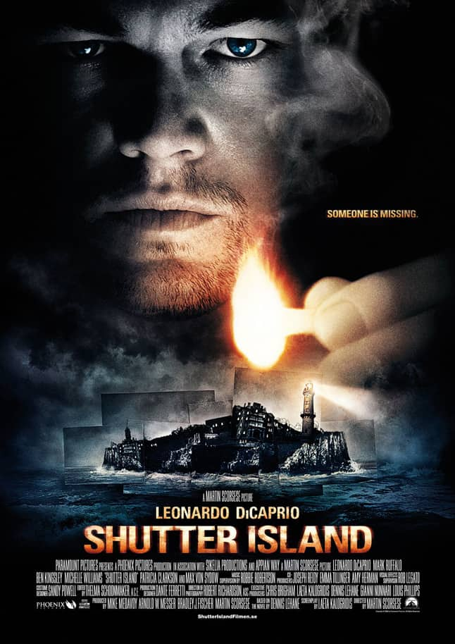 Words from Shutter Island - A close up of a person - Teddy Daniels