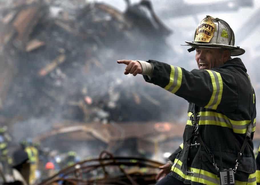 Emergency Response - A man wearing a helmet - First responder